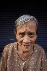 Old Lady in Lampang