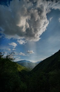 Clouds, Yunnan, China