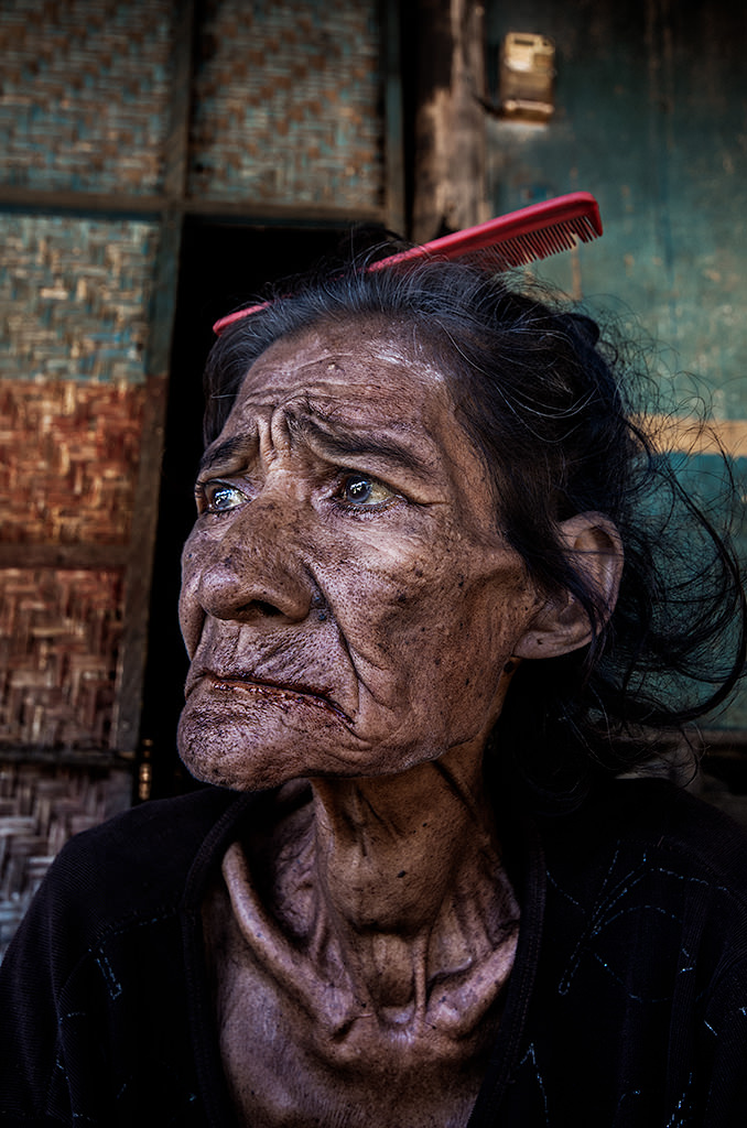 Indonesian Archipelago, Sumba, André Alessio, Graphylight, Portrait, Woman, Old