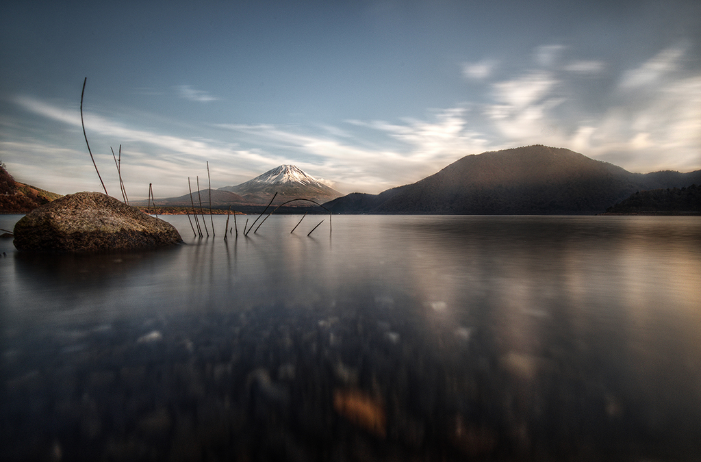 Motosu, Lake, Mt Fuji-san, Japan, Made in Japan, André Alessio, Graphylight
