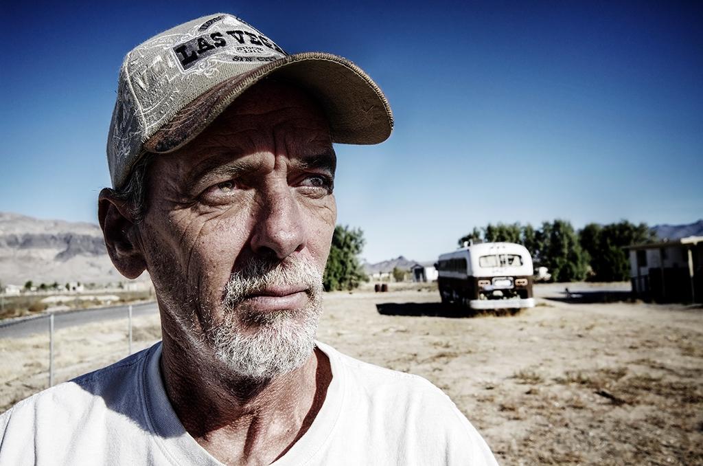 Série Noire, Man, Homme, Portrait, Utah