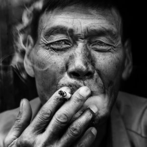 Ancient, Soldier, Smoking, Wase, Yunnan, Série Noire, André Alessio