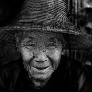 Artfreelance, Old, Lady, Wase, Yunnan, China