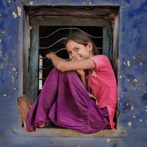 Smile, India, graphylight, André Alessio