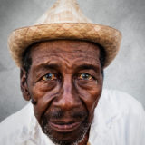 Trinidad man with hat