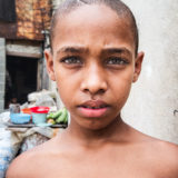 Santiago de Cuba the incredible eyes of a boy