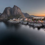 Hamnøy sunrise