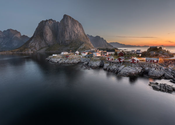 Hamnøy, Sunrise, André Alessio, Graphylight, Photographe Montpellier