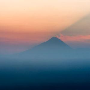 Merapi, Sunrise, Java, André Alessio
