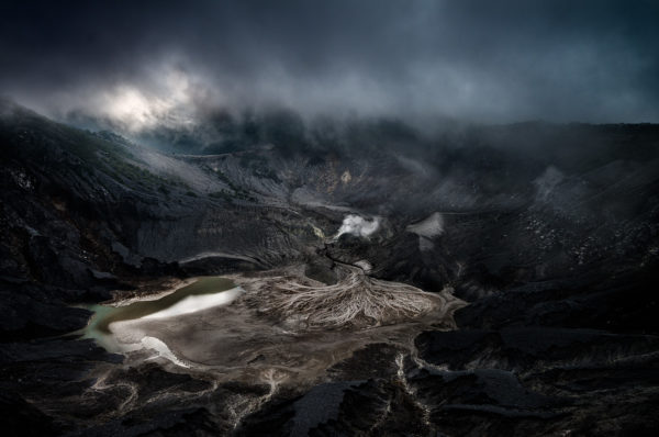Tangkuban Perahu, Volcano, Indonesia, Clouds, Volcan, André Alessio, Graphylight
