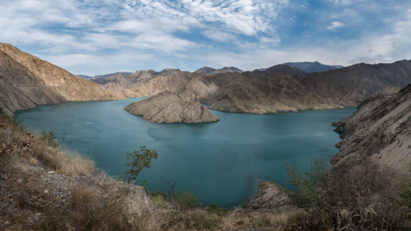 Kyrgyzstan, Kirghizistan, Pereval Kyzylbiit, Naryn river, André Alessio, Graphylight, Toktogul, Clouds, Emerald river